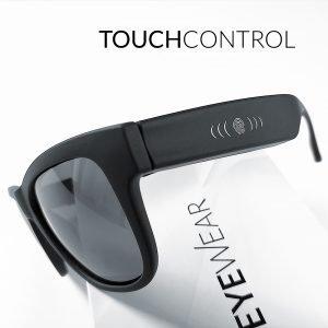 occhiali con touch panel