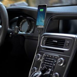 supporto caricabatterie per auto