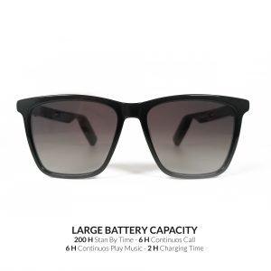 occhiale con batteria di lunga durata